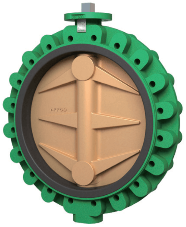 AFFCO S640 Butterfly Valve Series S640 Concentric with Vulcanised Seat