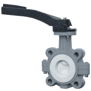 AFFCO S586 PTFE Butterfly Valve Series S586 Concentric with PTFE Coated Disc