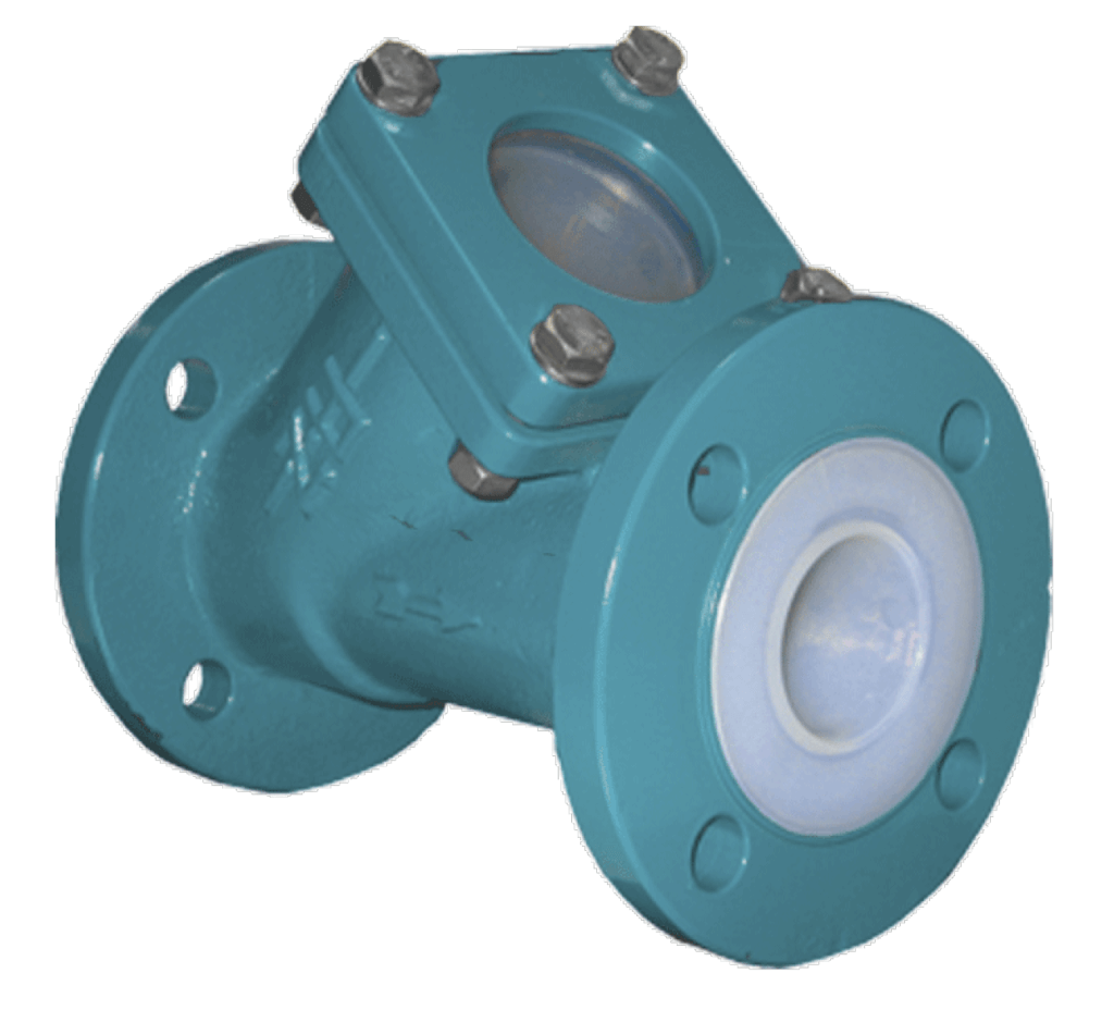 AZ Lined Full Bore Ball Check Valve without Sightglass