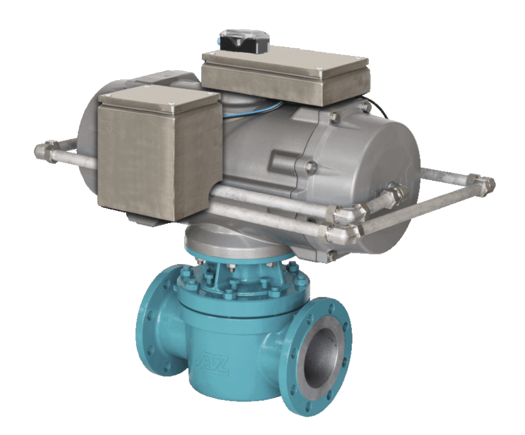 AZ Two-Way High Performance Sleeved Plug Valve Fast Acting Actuator