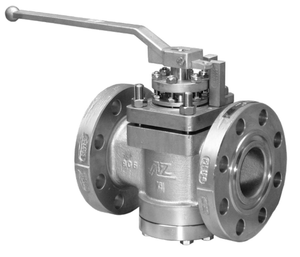 AZ Two-Way High Performance Sleeved Plug Valve High Pressure