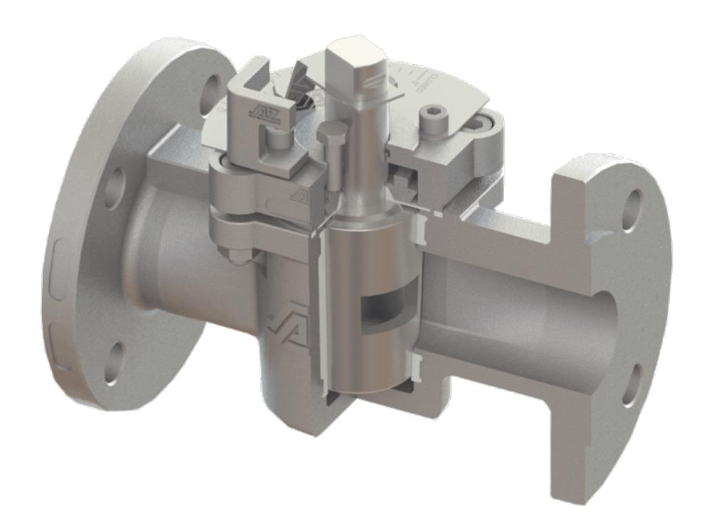 AZ Plug Control Valve Metallic
