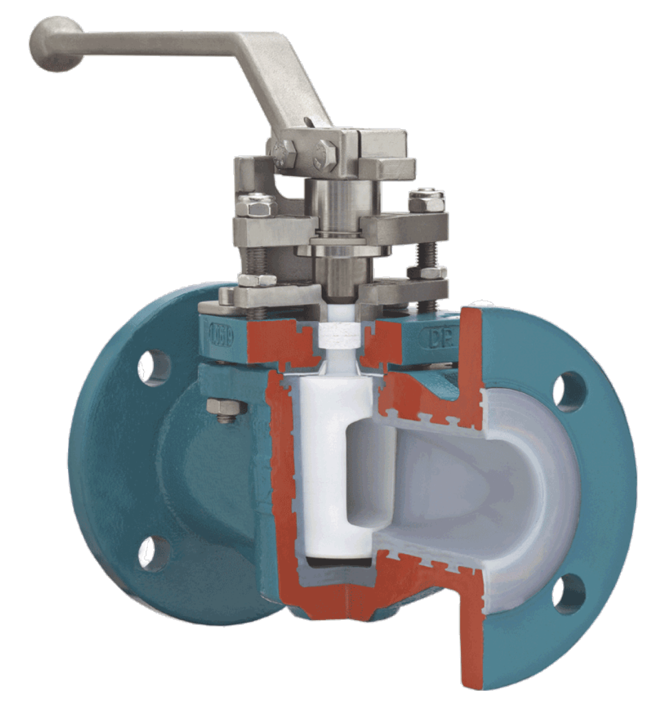 AZ Lined Plug Valve with Chemical Seal for Fluctuation Temperatures